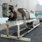 Used- Vincent Horizontal Screw Press, Model VP16K2, 304 Stainless Steel. Approximate 16
