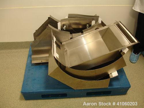 Used-Fette Rotary Tablet Press, Model P3200/C, 49 station, double sided, keyed upper punch guides, 100 KN compression pressu...