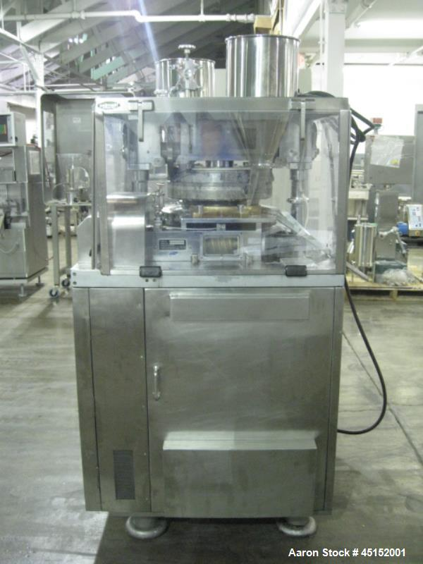 Used- Cadmach Rotary Tablet Press, Model CMB4-35