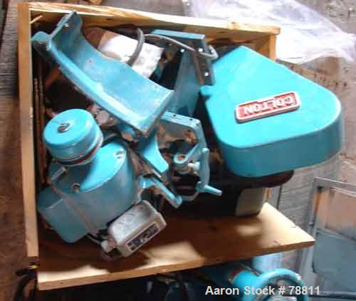 """Used- Colton Tablet Press, Model 216, Approximately 3 Ton. 16 station, 1 stamping station, 5/8"""" maximum tablet diameter, 3/4..."""