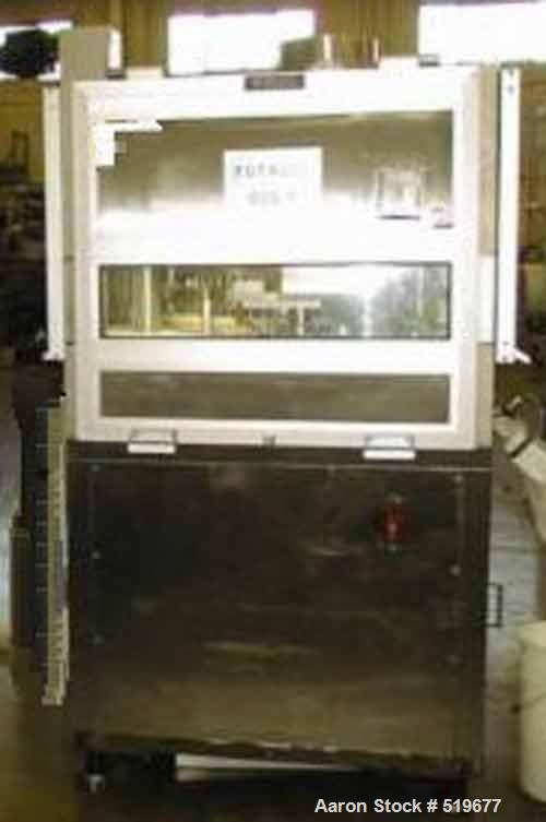 Unused-Reconditioned Courtoy Tablet Press, model R200, approximately 10 ton.65 station press, BB tooling. Double sided rotar...