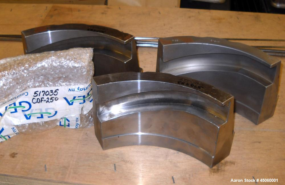 Unused- Courtoy Pellet Press Parts used with a Model R53 Pellet Press