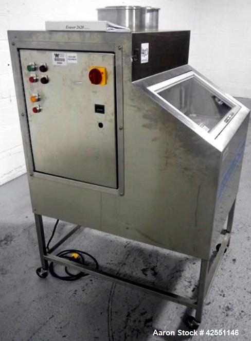 Used- Stevens Industries tablet press tooling destruction unit, model Eraser 2600