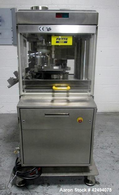 Used- Fette Rotary 24 Station Tablet Press, Model 1200.