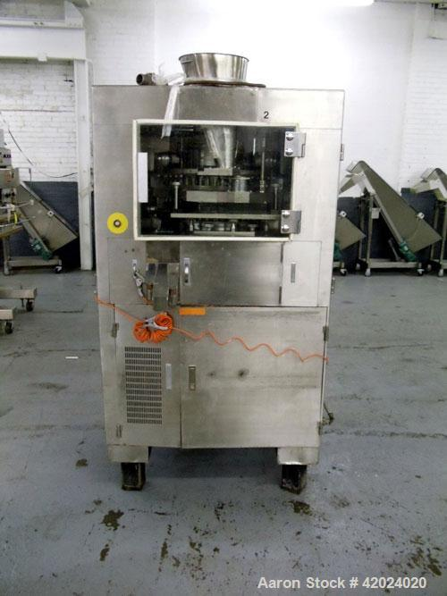 Used- Kikusui Rotary Tablet Press, Model Gemini 855 KAWCX