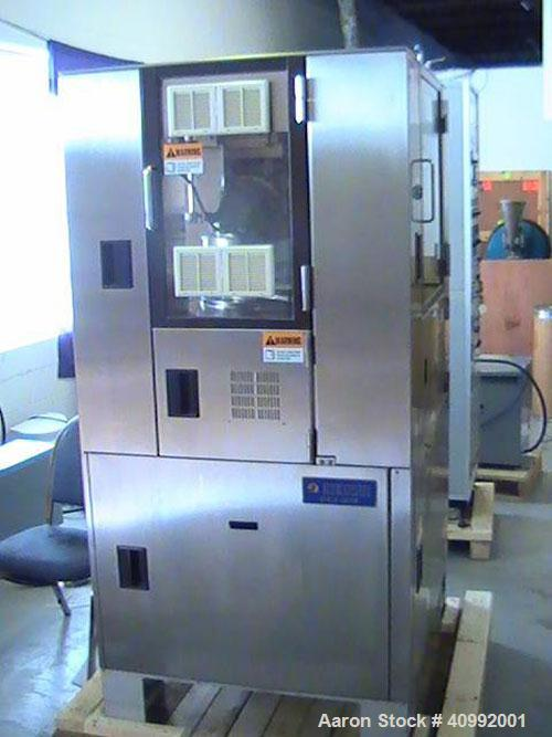 Used-Kikusui Libra II Bi-Layer Tablet Press, 36 Stations. Pressure control device (PCD-2) for automatic weight control and r...