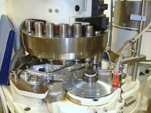 Used- Killian rotary tablet press, model RUD