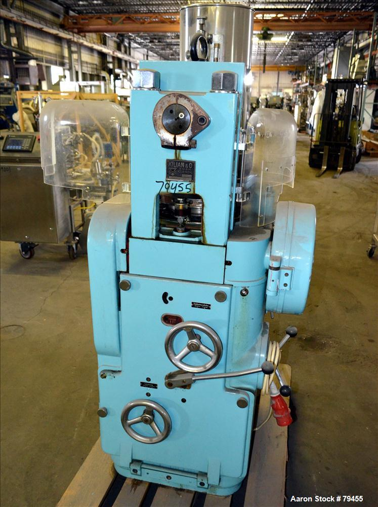 Used- Killian 20 Station Dual Sided Rotary Tablet Press, Type RUZS-H