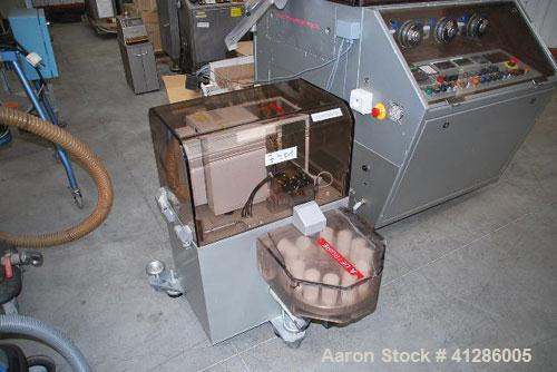Used-Korsch PH300 Rotary Tablet Press. 43 station, rotor with hard chrome plating, stainless steel hopper, force feed system...