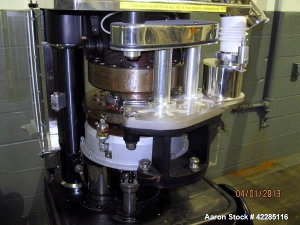 Used- Manesty Beta rotary tablet press