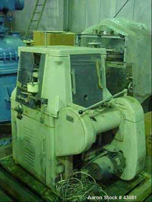 Used- Manesty High Speed Rotary Tablet Press, Model Rotapress MK11A. (61) Stations, double sided. 2,220-11,100 tablets per m...