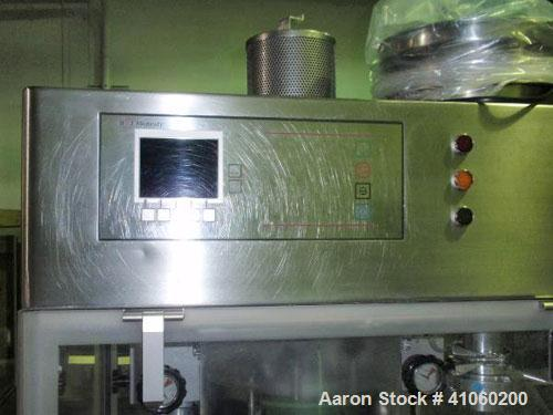 Used- BWI Manesty Rotary Tablet Press, Model Unipress Diamond. 20 station. 10 ton compression force with pre-compression 1 t...