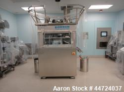 Korsch model P800/77 Pharmapress tablet press. 316L and 304 stainless steel contact parts. Has (77) ...