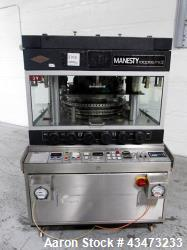 Used- Manesty Rota Press Rotary Tablet Press, model MKII