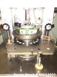 "Manesty Unipress. 20 station ""D"", Max output: 150,000 TPH, Pre-compression: 1 ton. Main compression..."