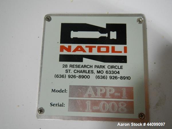 Used- Natoli tablet press tooling polisher, model APP-1
