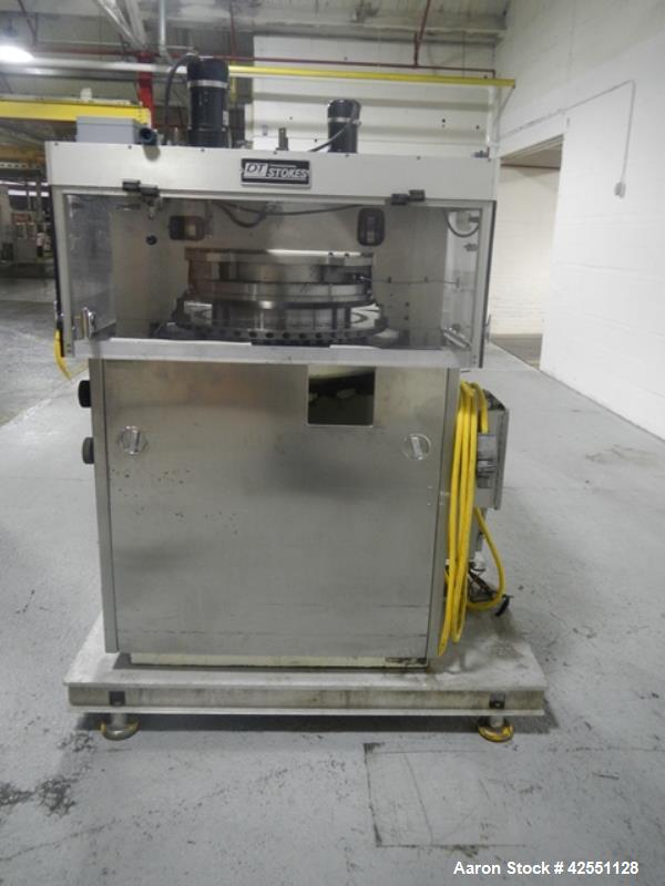 Used- Stokes rotary tablet press, model 754