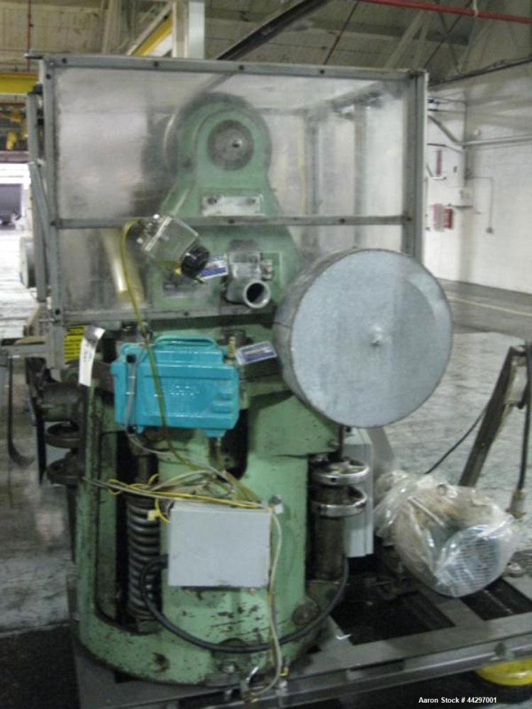 """Used- Stokes DD2 Rotary Tablet Press. 23 Station, 15 ton compression pressure, 1 3/16"""" max tablet diameter, 1 3/8"""" depth of ..."""