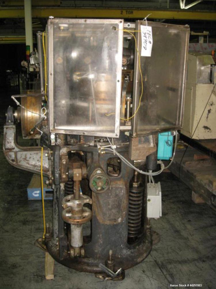 "Used- Stokes DD2 Rotary Tablet Press. 23 Station, 15 ton compression pressure, 1 3/16"" max tablet diameter, 1 3/8"" depth of ..."