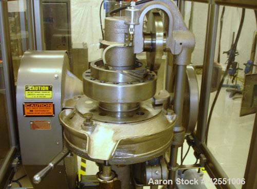 """Used- Stokes Rotary Tablet Press, Model RB2. 16 Station, 4 ton compression pressure, 5/8"""" maximum tablet diameter, 11/16"""" ma..."""