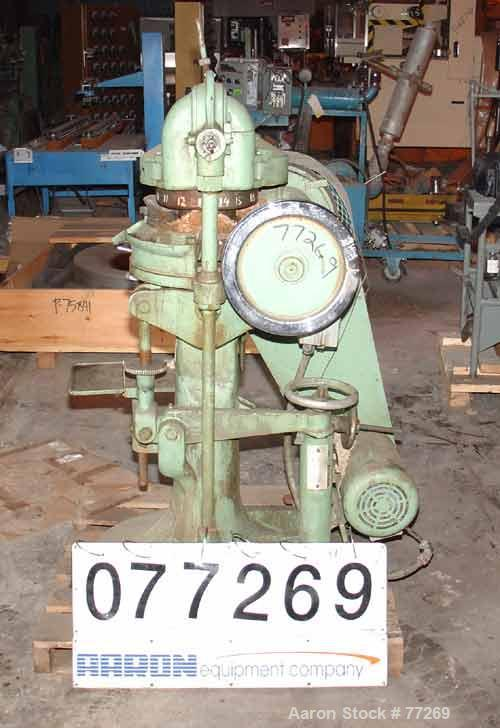 """Used- Stokes Rotary Press, Model RB2. 4 Ton maximum pressure above and below. 16 Station. 11/16"""" Maximum depth of fill, 5/8""""..."""