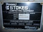 Used- Stokes Rotary Tablet Press, Model 900-342-1. 15 station, 0 to 35 tons operating pressure with pre-compression. 3-1/2