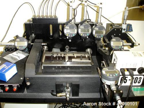 Used- IPR Tablet Press Tooling Inspection and Analysis System, type TIAS, model EAPF-1203, serial #01T1A23-PF2L, new 2003.