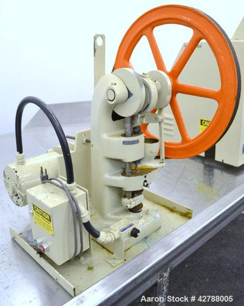 Used- Stokes Single Motion, Single Punch Compacting Press, Model 511.6