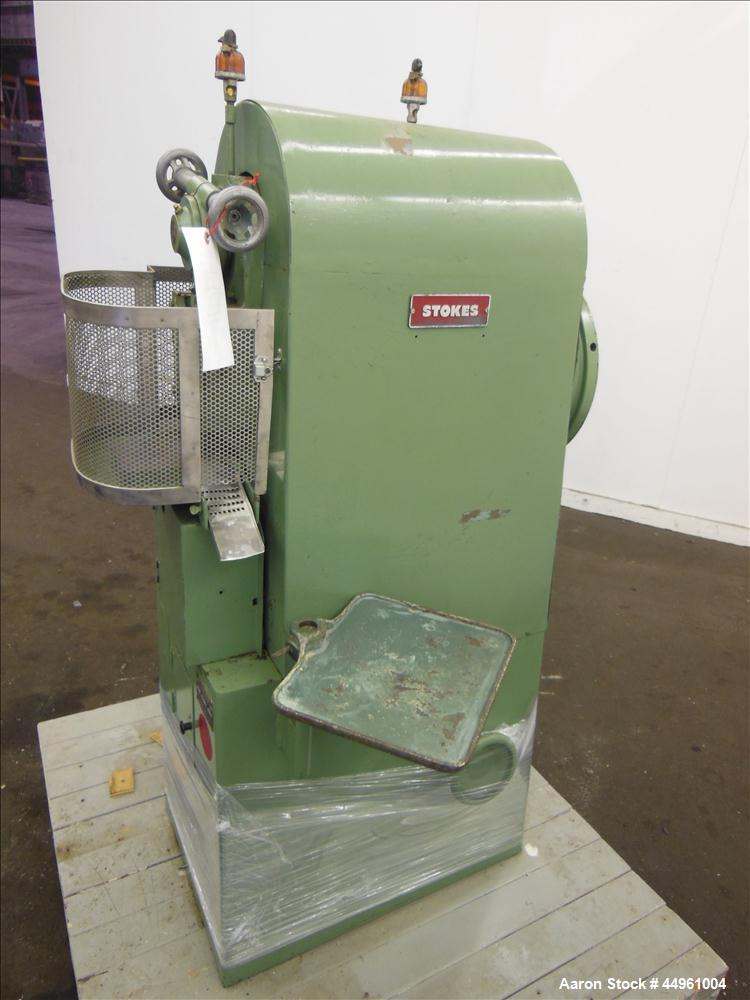 Used- Stokes Single Punch Press, Model F 519-2