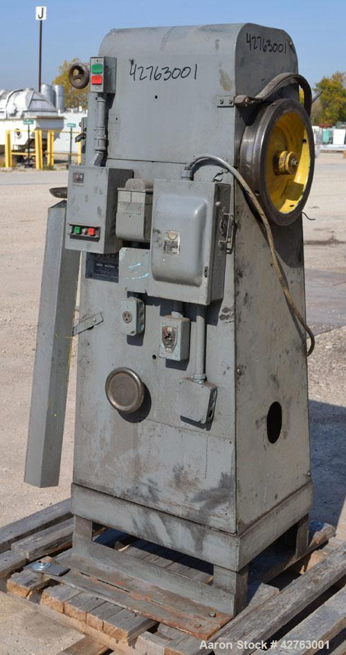 Used- Stokes Single Station, Dual Action Press, Model F 4