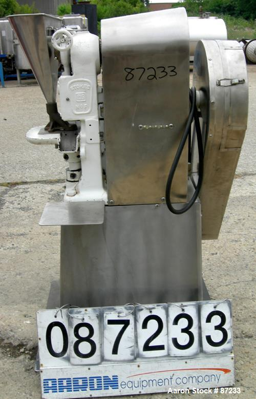 Used- Stokes Single Station Press, Model F