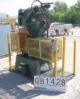 USED:Perkins O.B.I. single crank flywheel punch press, 28 ton.Approx bed area 22