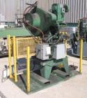 USED:Perkins O.B.I. single crank flywheel punch press, 28 ton.Approx bed area 22