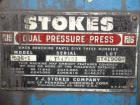 Used- Stokes Dual Motion Ceramic Compacting Press, Model 526-1 (R4)