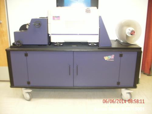Used- Astro Med Quick Label System. Includes software to design labels. Mfg. 2014