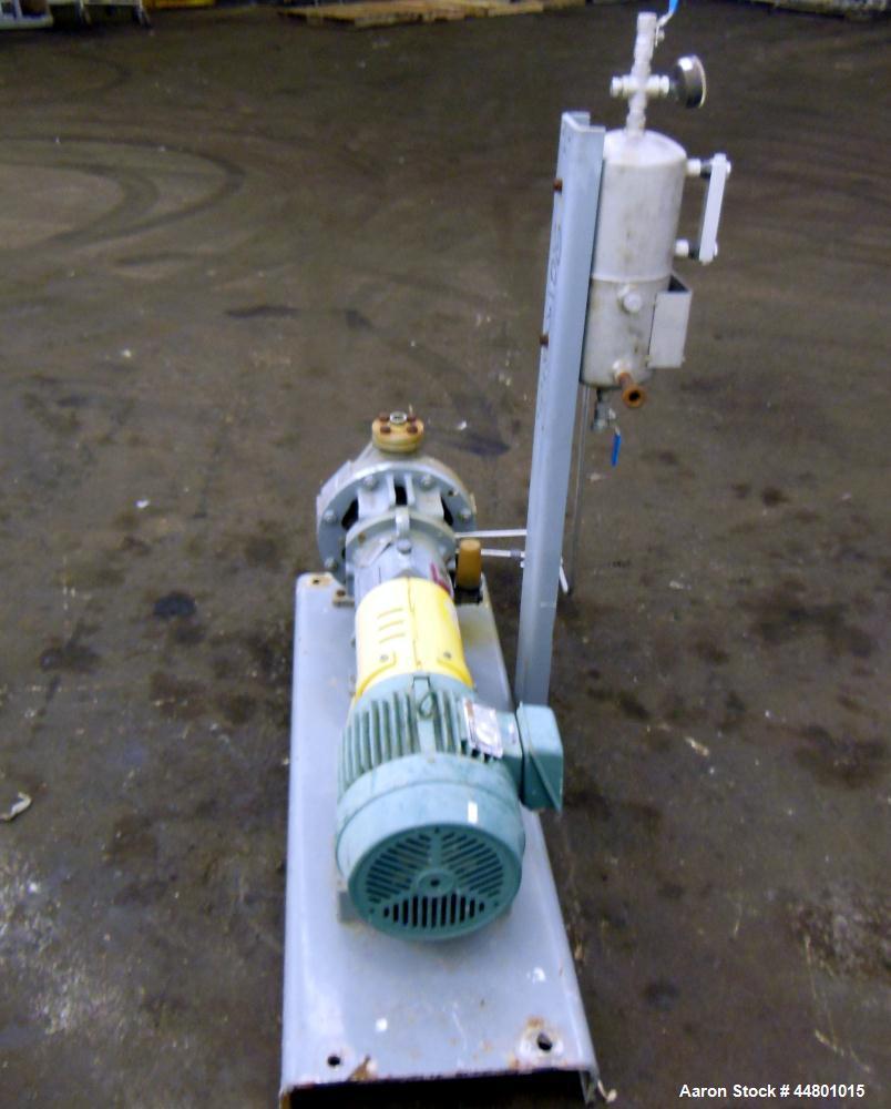 Used- Flowserve Durco Mark 3 Centrifugal Pump, Model MK3 Lo-Flo