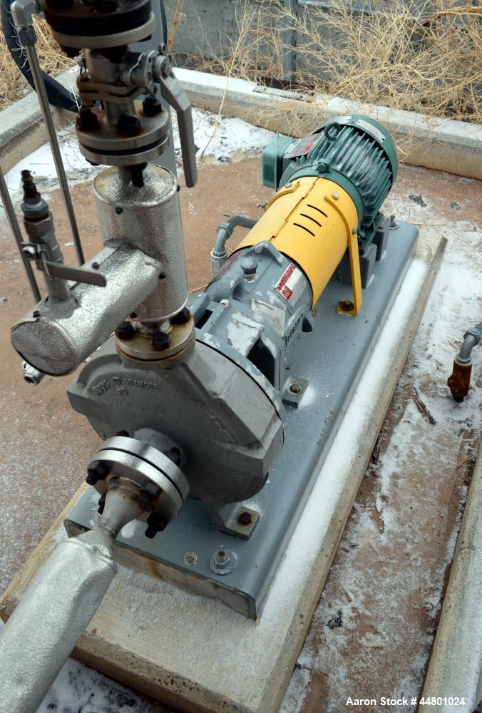 Used- Flowserve Durco Mark 3 Centrifugal Pump, Model MK3 Lo-Flo
