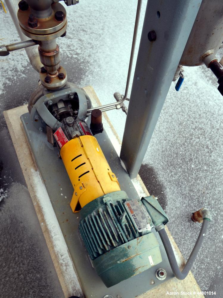 Used- Flowserve Durco Mark 3 Centrifugal Pump, Model MK3 Standard