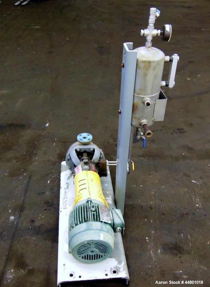 Used- Flowserve Durco Mark 3 Centrifugal Pump, Model MK3 Standard
