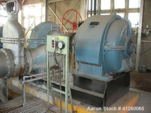 Used-Pump with electric motor. English Electric 250 hp motor, 875 rpm, 440V, 3 Ph, 60 Hz.