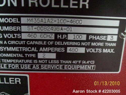 Used- Aurora Fire Pump System, Model 5-481-11C