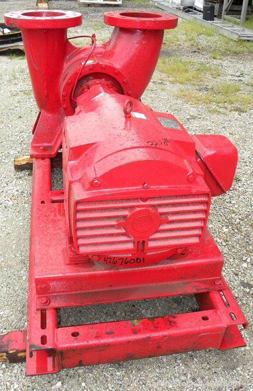 Unused- Bell & Gossett / ITT Industries Double Suction Split Case Centrifugal Pump, Size VSC S BF 11.625 10X10X13-RHR, Model...