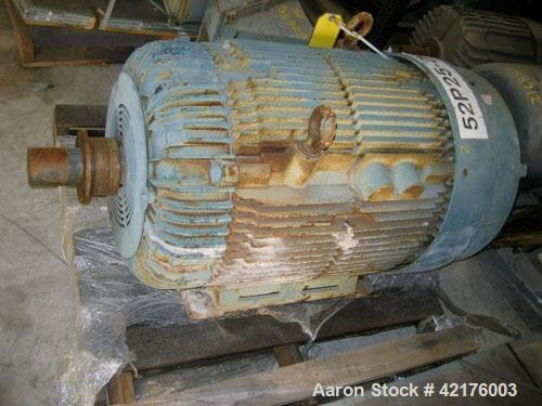 """Used- Durco Centrifugal Pump, size 10X8X16, carbon steel. 10"""" inlet, 8"""" outlet. Approximately 3330 gallons per minute at 174..."""
