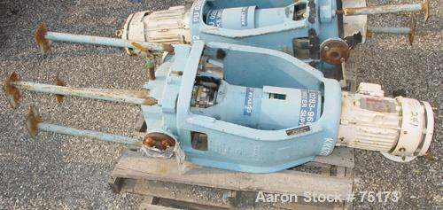 """USED: Goulds inline centrifugal pump, model 3996. 100 gpm, 5 hp XP, 70' head. Material: D1. Impeller diameter: 8.62"""". 230-46..."""