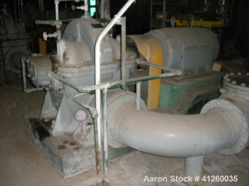 Used-Ingersoll-Rand Pump with electric motor, 8340 gpm, 300 hp Westinghouse motor, 440V, 1185 rpm.
