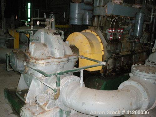 Used-Ingersoll-Rand Pump with natural gas motor, 8340 gpm, 360 hp White Superior motor.