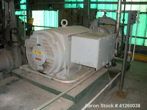 Used-Ingersoll-Rand Pump with electric motor, 8340 gpm, 400 hp motor, 4000V, 1180 rpm.
