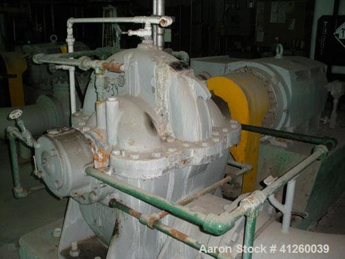 Used-Ingersoll-Rand Pump with electric motor, 8340 gpm, 400 hp Toshiba motor, 4000V, 1180 rpm.
