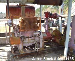 Used- Clarke Fire Protection Products Diesel Driven Fire Pump System. Consisting of: (1) Clarke diesel engine, model JU6H-UF...