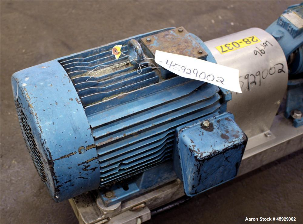 Used- Sihi/Sterling Centrifugal Pump, Model CEHY-5101-AA1180A0, Carbon Steel. Approximate 84 gallons per minute at 60 feet t...